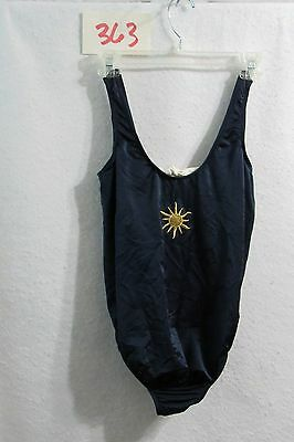 Women's My Choice Maternity Navy One-Piece Bathing Suit Swimsuit Size Small