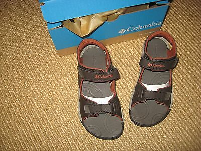 New*boys Youth Size 3 *columbia Brand Tech Sun Sandals