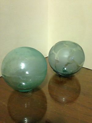 Japanese Fishing Floats Hand Blown
