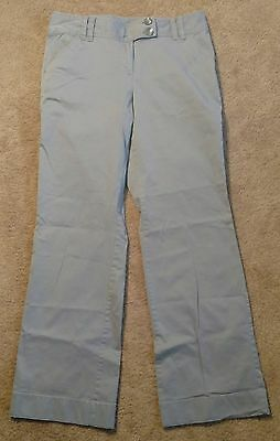 Ann Taylor Women's Curvy Fit Grey Pants Size 6 Career Wear to Work