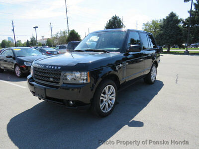 2011 Land Rover Range Rover 4WD 4dr HSE LUX 4WD 4dr HSE LUX SUV Automatic Gasoline 8 Cyl BLACK