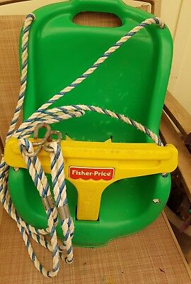 Fisher Price go anywhere swing with harness belt