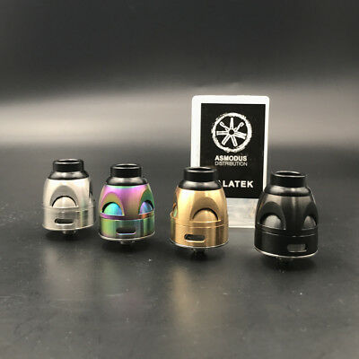 New Asmodus Galatek 24mm Rda SS/black/gold/rainbow IN STOCK
