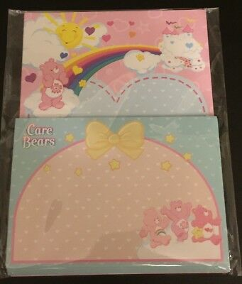 New Care Bears Sakura Letter Set Lot Stationery Paper & Envelopes From Japan