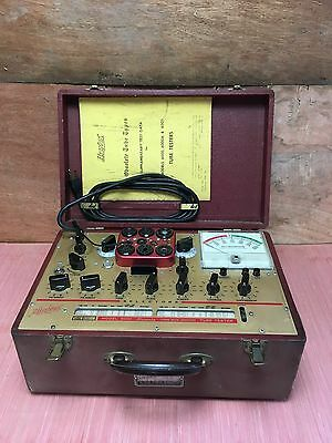 Vintage Hickok Micromho 6000 Mutual Conductance Vacuum Tube Audio Amp Tester