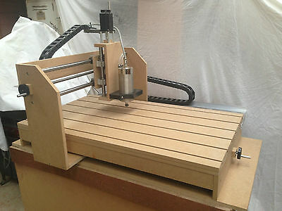 cnc Budget Router Plans, DIY, Engraving, Part & Assembly Drawings with Photos