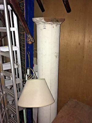 Vintage Pillar Column Architectural Garden Post Photography Theatre Prop Wood 6'
