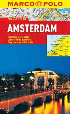 Amsterdam Marco Polo City Map by Marco Polo 9783829769501