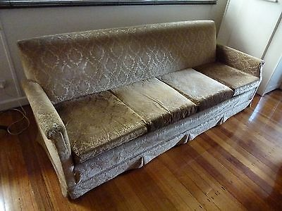 Antique four seater lounge
