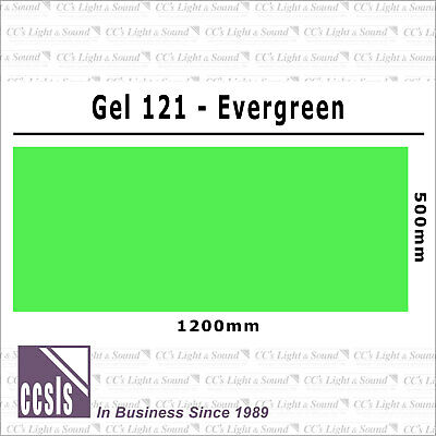 Clear Color 121 Filter Sheet - Evergreen