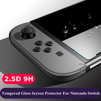 Tempered Glass Screen Protector For Nintendo Switch 9H Clear Film Guard Shield