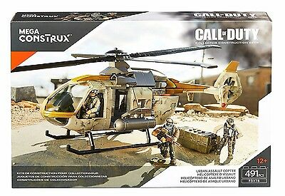 Call of Duty Urban Assault Helicopter MEGA BLOKS Set FDY78 NEW