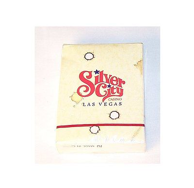 1980s Silver City Las Vegas Hotel Casino Motel Tahoe Playing Cards NOS MkOfr