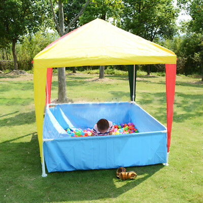 102*15*16cm Family Swimming Play Pool Steel Pro Frame Outdoor Shade Kids Garden