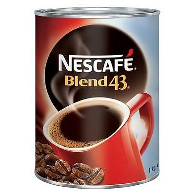 Nescafe Blend 43 Coffee 1kg (Carton of 6 Cans}