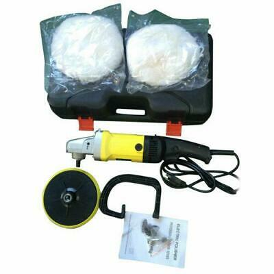 """NEW 7"""" Electric Car Polisher Buffer Waxer Sander Detail Boat Variable 6-Speed"""