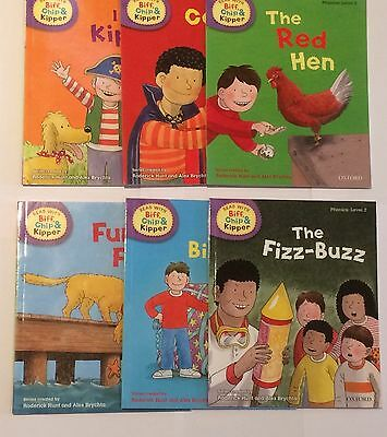 Oxford Reading Biff Chip And Kipper Phonics Level 2 Pack Of 6