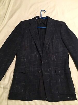 Vtg 50s Sport Coat Fleck Rockabilly Leisure Jacket 1950s Mens Atomic Blazer