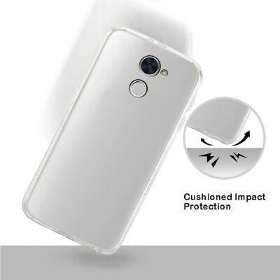 Soft Silicone Gel Cases For Huawei Y7 Prime Clear Phone shell Protective Covers