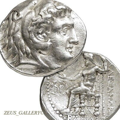 ALEXANDER the GREAT Ancient Greek Silver Coin Tetradrachm Babylon mint Price3722
