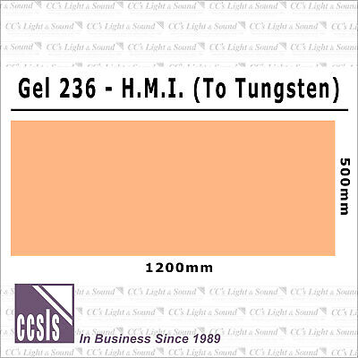 Clear Color 236 Filter Sheet - HMI to Tungsten