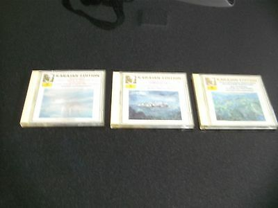 CD Set Karajan-Edition Berliner Philharmoniker 3 CD`s