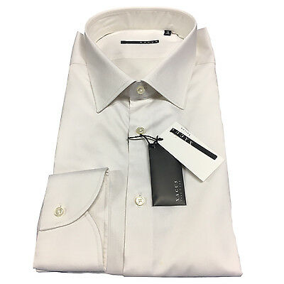 XACUS men's shirts white 51165.004 100% cotton