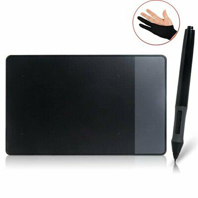 "Huion 420 Grafiktablett USB Digital Touchpad Grafik-Tablet 4 x 2.23"" Glove EU"