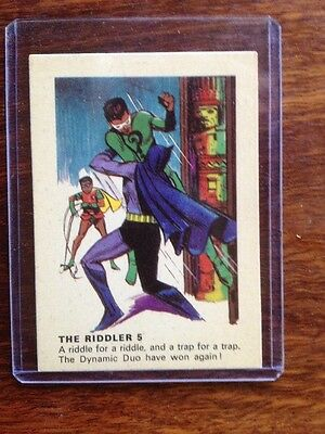 1966 Weeties and Rice Krinkles Riddler 5