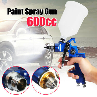 HVLP Air Spray Gun Kit 1.4/1.7/2.0MM Nozzles Set Paint Touch Up Gravity Feed