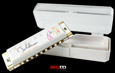 Hohner John Lennon Signature Harp Limited Edition Harmonica Collectors Item