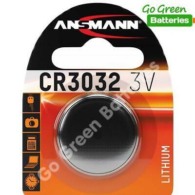 1 x Ansmann CR3032 3V Lithium Coin Cell Battery 3032, DL3032, BR3032, ECR3032