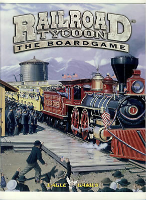 RAILROAD Tycoon The Boardgame Eagel game rules 2005 ref100106