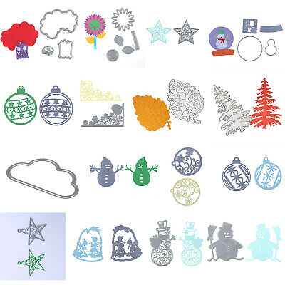 Cutting Dies Stencil DIY Scrapbooking Paper Album Decor Embossing Cards Craft