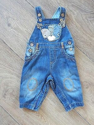 Baby Boys Next Dungarees Age 3-6 Months