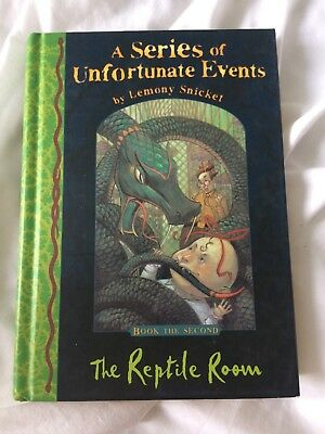 Series of Unfortunate Events Book 2 - The Reptile Room
