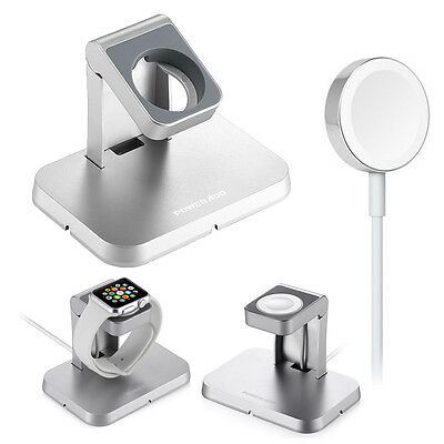 Poweradd Magnetic Charger Charging Cable(1m) & Stand For Apple iWatch 38mm/42mm