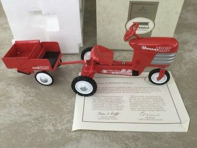 "Hallmark Galleries Kiddie Car Classics Murray ""tractor & Trailer"" - Nib."
