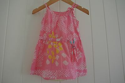 ( preloved kids ) Designer Fred Bare Size 0 Baby Girl Blouse Top Dress Summer