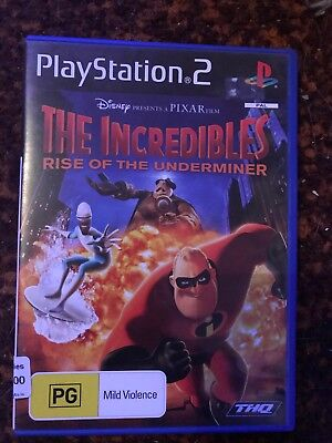 Incredibles: Rise of Underminer (Sony PlayStation 2, 2005)