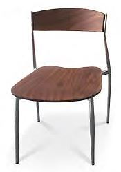 Wood seat side chairs