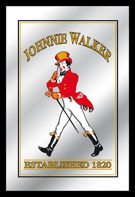 Johnnie Walker Mirror Established 1820