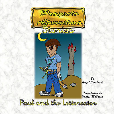 Paul and The Lettereater, Children's story that is part of the Aturritmo Project