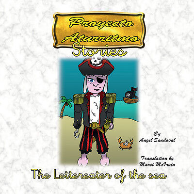 The Lettereater of the sea Children story that is part of the Aturritmo Project