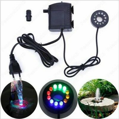 Aquariums LED Light Submersible Water Pump Fish Pond Fountain Sump Waterfall