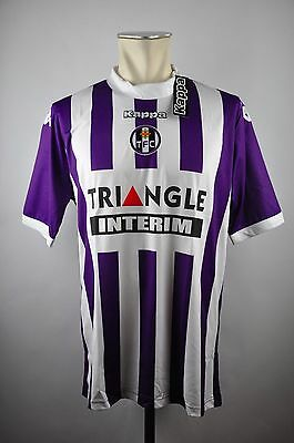 Toulouse FC Trikot Home Gr. XL Kappa France TFC Triangle 2013-2014 maillot