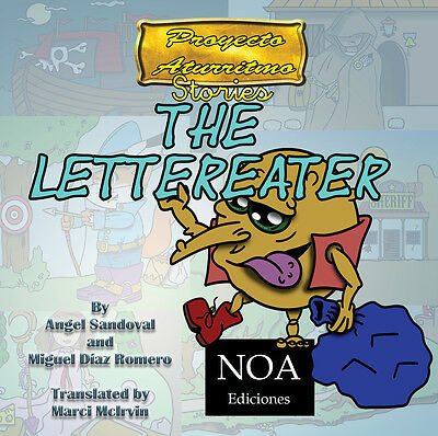 The Lettereater, Project Aturritmo stories in a special deluxe edition