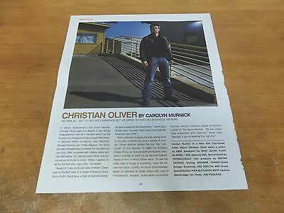 Christian Olvier  clipping #817