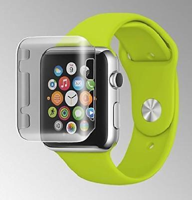 For Apple Watch 42Mm Protective Snap On Case Cover W/ Built-In Screen Protector