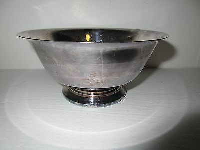 Paul Revere F.B. Rogers Silver Co. No. 6  Round Footed Bowl Silverplate